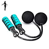 APLUGTEK Jump Rope, Weighted Ropeless Skipping Rope for Fitness,...