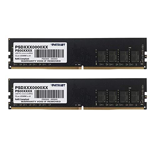 Patriot Signature Line 8GB (2 x 4GB) 288-pin DDR4 PC4-17000 2133MHz Memory Module Kit PSD48G2133K