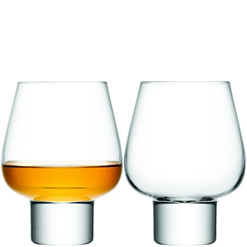 LSA Madrid Clear Sherry Glass Pair 460ml