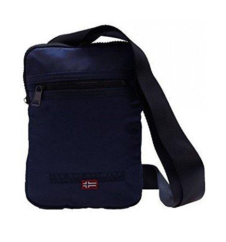 Borsello Tracolla Blu Uomo Napapijri Bag Blue Marine Men File Small Flat Crossover N6P19