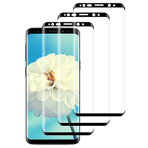 IRROT Vetro Temperato per Samsung Galaxy S8, [3-Pack] Pellicola Protettiva per Samsung S8, Senza Bolle, HD Chiaro, 9H Durezza, Anti-Graffio