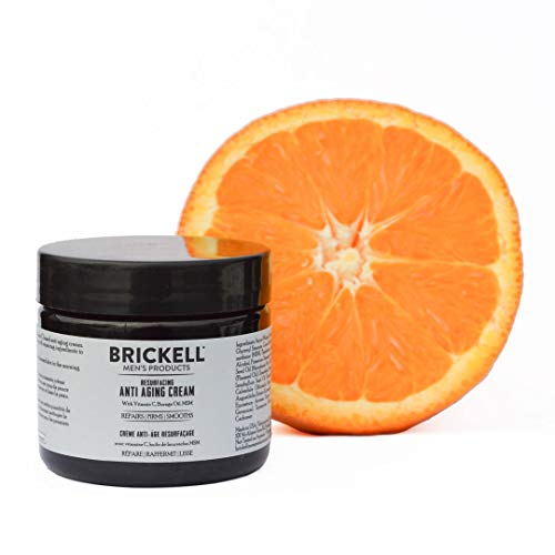 416eocxU5JL - Brickell Men's Products Resurfacing Anti-Aging Cream For Men, Natural and Organic Vitamin C Cream, 2 Ounce, Scented