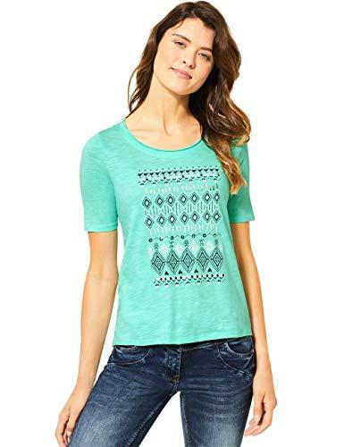 Cecil Damen 314960 T-Shirt, Light Molecule Mint Green, XX-Large