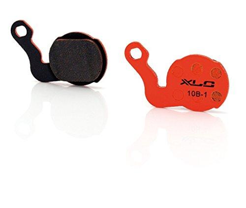 XLC Unisex– Erwachsene Scheibenbremsbeläge BP-O14, Orange, unisize