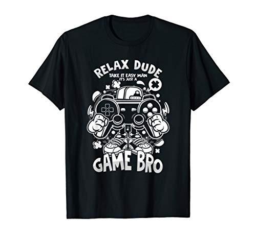 PC Computer Konsole Entspann Dich Spiel Freund Game Geschenk T-Shirt
