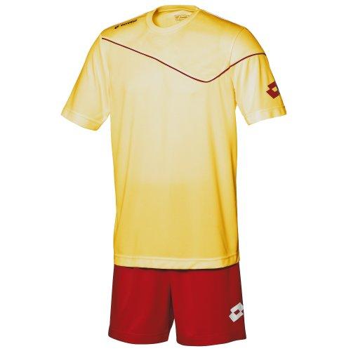 Lotto - Equipacíon/Conjuto Camiseta de Manga Corta-pantalón de Futbol para Hombre (XSB)...