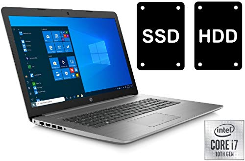 Notebook 470 G7 - Core i7-10510U - 32GB DDR4-RAM - 500GB SSD + 1000GB - 43,9 cm (17.3 Zoll / Full-HD) Business Laptop