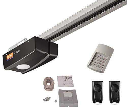 Hörmann Ecostar Garagentorantrieb Liftronic 800-2 (800 N, 433 MHz, inkl. 2 Handsender RSC 4, 1 Funk-Codetaster RCT 3b + 1 Innentaster PB3, für Garagentore bis 13,75 m², inkl. Montagezubehör) 4510479