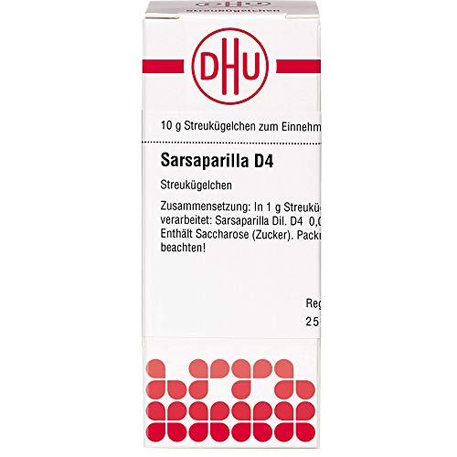 DHU Sarsaparilla D4 Streukügelchen, 10 g Globuli