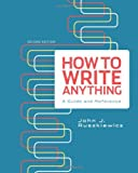 How to Write Anything: A Guide and Reference