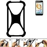 K-S-Trade Mobile Phone Bumper for Alcatel A30 Plus Silicone