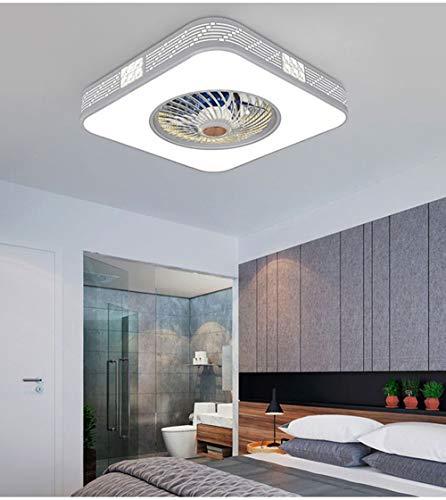 Lámpara de techo de la lámpara de techo  Lámpara de ventilador nórdico para dormitorio  Lámpara de ventilador invisible del restaurante  Lámpara Killer Mosquito Hogar (Size : A)