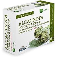 Alcachofa complex 2.300 mg 60 cápsulas. Con cola de caballo, opuntia, garcinia cambogia y sen.