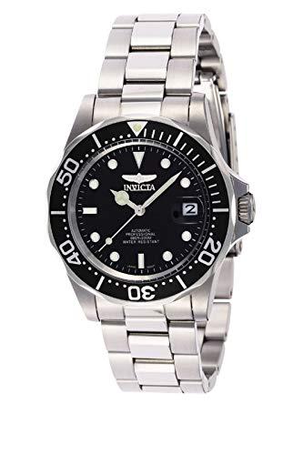 Invicta Pro Diver 8926 Reloj para Hombre Automático, 40mm, Negro/Plateado