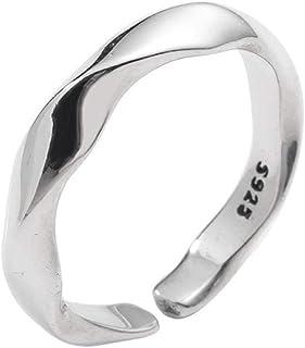 Anello Regolabile Donna Fashion Ring Ladies Girls Anelli Aperti Misura Regolabile creatività Semplice Partito Gioielli Ane...