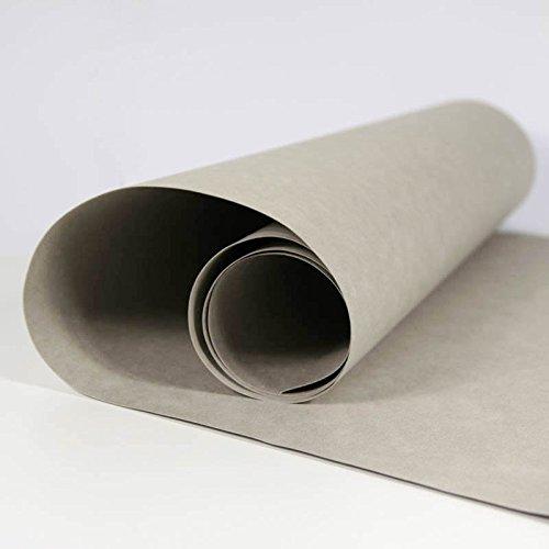 SnapPap grau - Papier in Lederoptik Kreativpapier Waschbares Papier
