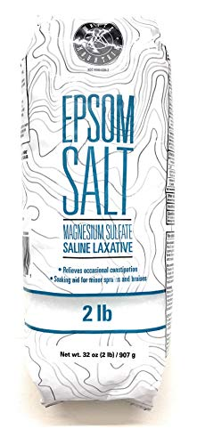 Recommended Product: Epsom Salt