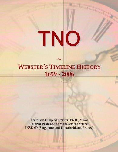 TNO: Webster's Timeline History, 1659 - 2006