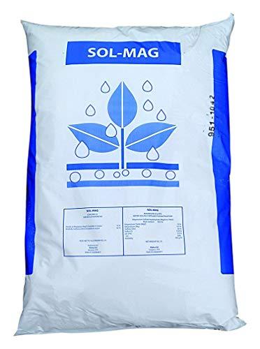 VIALCA Solfato di MAGNESIO Cristallino Sacco kg. 25 sol-Mag SOLUBILE in Acqua MAGNESIO Solfato CONCIME da FERTIRRIGAZIONE - Questo Prodotto E' DISCIPLIANTO dal REGOLAMENTO (UE) 2019/1148