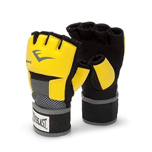 Everlast EverGel Hand Wraps (Yellow, Large)