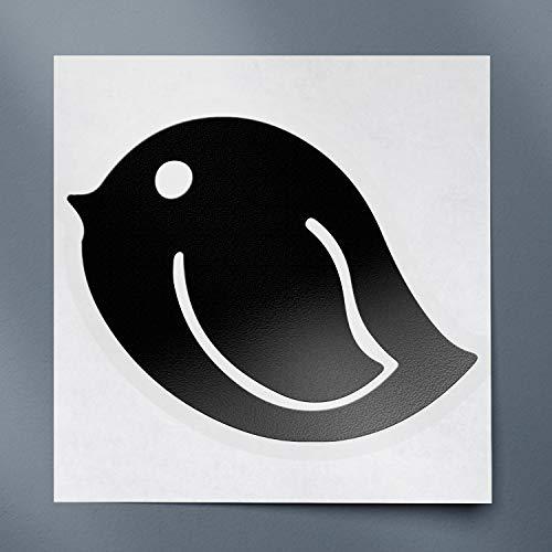 USC DECALS Bookmark Birdie (Black) (Set of 2) Premium Waterproof Vinyl Decal Stickers for Laptop Phone Accessory Helmet Car Window Bumper Mug Tuber Cup Door Wall Decoration