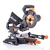 Evolution Power Tools R210SMS+ Sliding Mitre Saw With Multi-Material...