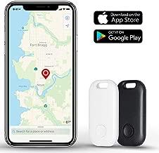 Moupa Key Finder Smart Tracker Item Finder Phone Finder Bluetooth Smart Tag-Black and White