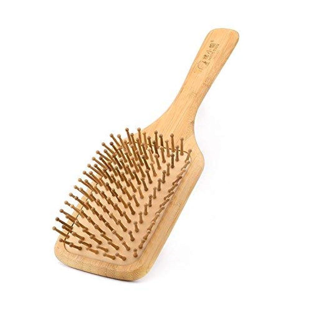 小道プライムおじいちゃんComb for women Scalp massage Wood Comb Head Hair Comb with air cushion [並行輸入品]