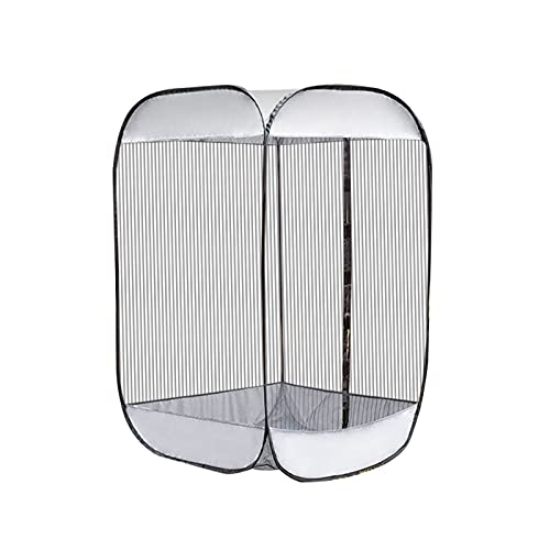 Outdoor Sport Events Watching Tent Insect Protection Parasol Net Mosquito Net Double Lightweight Portable Canopy Insect Protection UV Protection for Fishing Weatherproof Oxford Cloth PVC Tent (Weiß)
