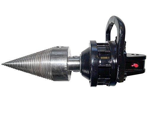 Drill- / Spaltkegel 120mm mit Finn-Rotator CR300 3to. Kegelspalter, Holzspalter, Spaltgerät