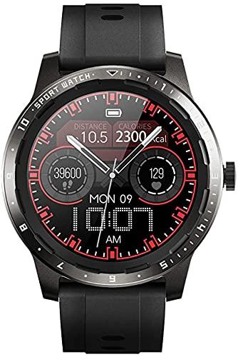 X&Z-XAOY Moda Smart Watch- Fitness Tracker Watch Mide Las Medidas De La Temperatura Corporal Monitoreo De La Salud del Reloj De Alarma Deportes SmartWatch