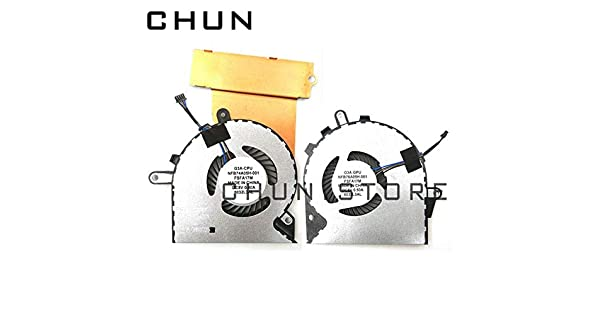 CPU Cooling Fan Compatible for HP Omen 15-CE 15-CE000 15-CE010CA 15-CE020CA 15-CE030CA 15-CE051NR NFB76A05H-001 929455-001 /& 929456-001 FCQLR New GPU