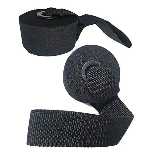 BESPORTBLE 2 bandas de resistencia para anclaje de puerta, gimnasio, anclaje, bandas elásticas, accesorios para yoga y entrenamiento