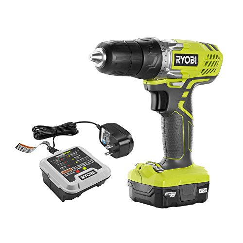 Ryobi 12-Volt Lithium-Ion 3/8 in. Cordless Drill/Driver Kit-HJP004L