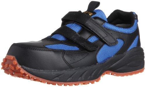 [ミドリ安全] 安全作業靴 JSAA認定 屋根上作業向け マジックタイプ ヤネグリップ YG15 メンズ ブラック 26.5