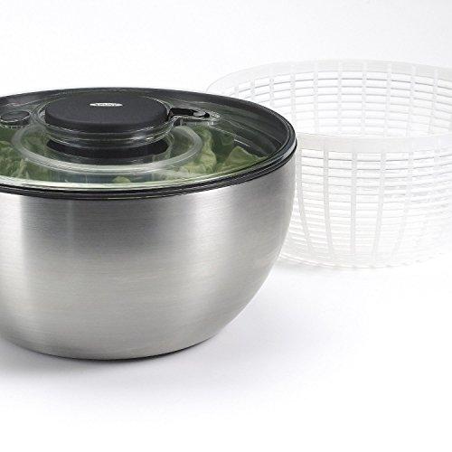 OXOステンレスサラダスピナー(大)SaladaSteelSaladSpinnerSteelSaladSpinner[並行輸入品]