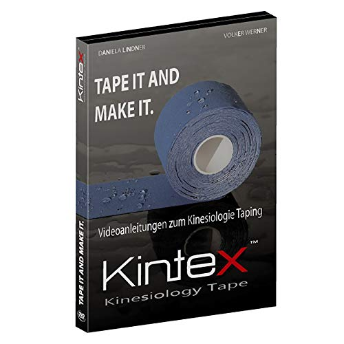 Kintex DVD für Kinesiologie Taping, 34 Anlagevideos, Taping Anleitung, Tape it and make it