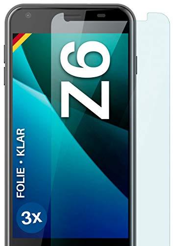moex [3 Stück] Schutzfolie kompatibel mit Acer Liquid Z6 Bildschirmfolie Hüllen-Fre&lich, 0.2 mm dünne Bildschirmschutzfolie, Display Schutz extra Kratzfest - HD Ultra-Klar