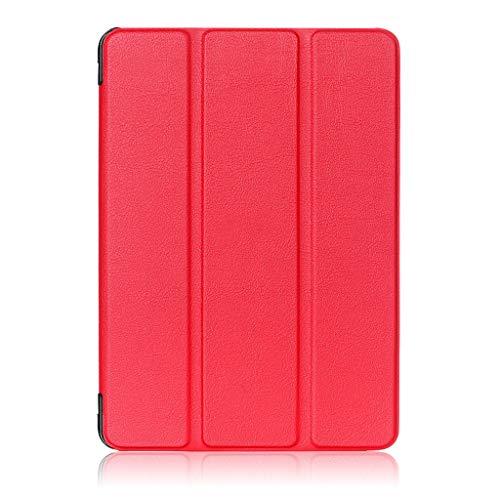 Funda de Piel sintética con función Atril para Tablet Lenovo Tab 4 8' TB-8504F/N UK (Lenovo Tab 4 8' / Rojo)