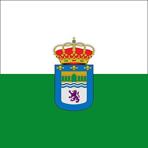 magFlags Bandera Large Gradefes - Junta Vecinal, León, España | 1.35m² | 120x120cm
