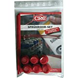 CRC 32596 Sprhrohr-Set für Spraydosen, 145 mm, rot