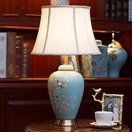 Lámpara de mesa moderna Sala de estar Iluminación Cerámica elegante decoración moda lámparas de moda y linternas