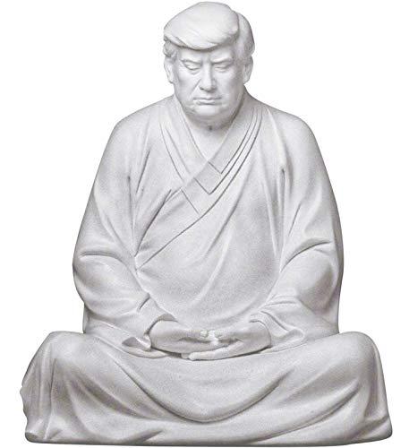 KTYX Pensive Donald Trump Buddha Make Your Company...