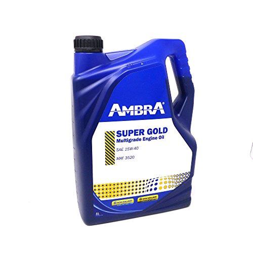 Petronas Olio Motore SUPER GOLD 15w-40 5LT AMBRA Trattori e Macchine Agrico