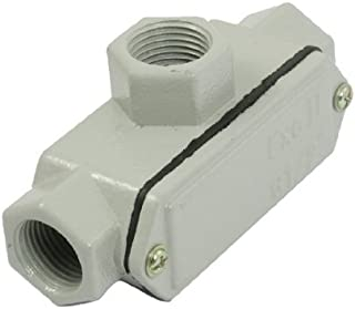 Water & Wood Metal Shell Three Hub Explosion-proof Conduit Outlet Box G1/2