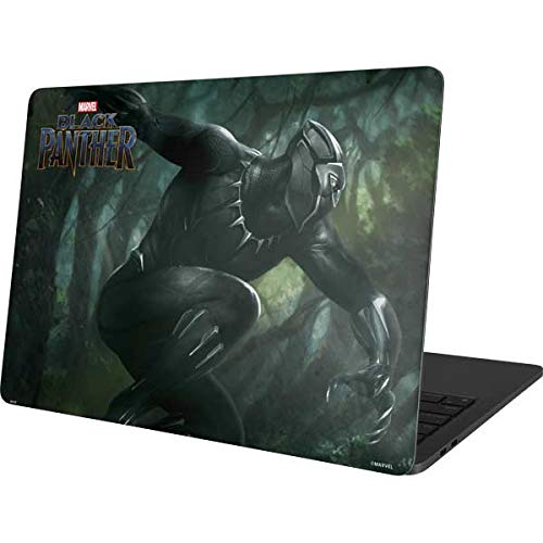 Skinit Decal Laptop Skin Compatible with MacBook Pro 13in (2020) - Officially Licensed Marvel Black Panther in Action Design