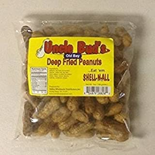 Deep Fried Peanuts -Eat em Shell & All! (Old Bay) 6 PACK