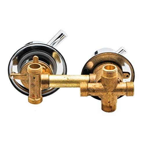 Pulverizador de Mano, Cabezal de Ducha Cabezal de Ducha de Mano Que Aumenta la presión del Agua Baja, Accesorio de baño, válvula mezcladora de Agua de 2/3/4/5 vías Grifo de Ducha de latón for