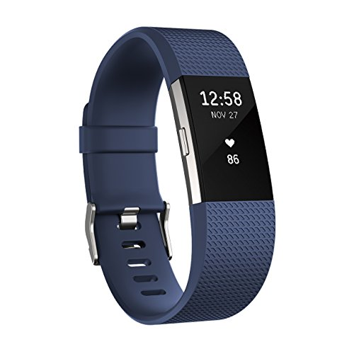 Fitbit フィットビット 活動量計 Charge2 バッテリーライフ最大5日間 睡眠ステージ記録 歩数&距離&カロリー...