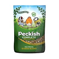 Specially selected Enriched with natural Calvita - essential nutrients for birds Enjoy more garden birds Attracts colourful birds High energy No mess and no waste This seed mix is suitable for feeding on feeders table and the ground high energy conte...